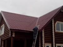 кровля крыши профнастилом фото
